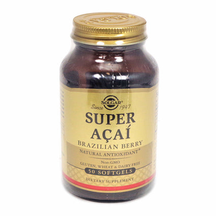 Solgar Super Acai   - 50 Tablets