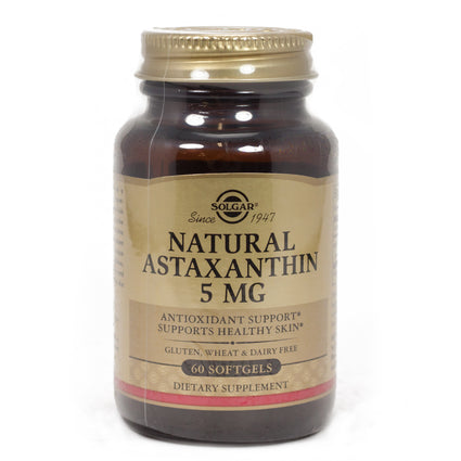Solgar Astaxanthin Complex 5 mg Softgels  - 60 Count