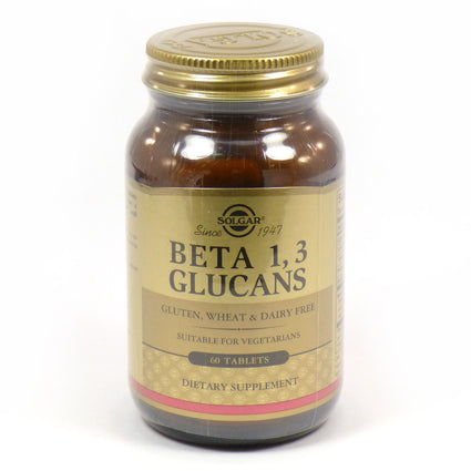Solgar Beta 1 3 Glucans  - 60 Tablets