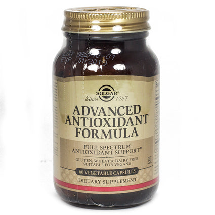 Solgar Advanced Antioxidant Formula Vegetable Capsules  - 60 Count