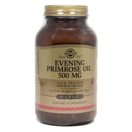 Solgar Evening Primrose Oil 500 mg Softgels  - 180 Count