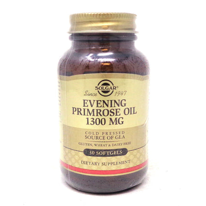 Evening Primrose Oil 1300 mg Softgels By Solgar - 30 Count