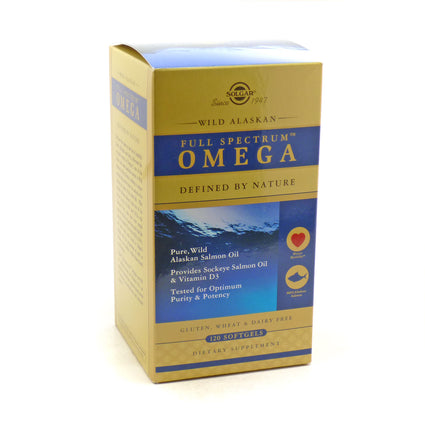 Solgar Full Spectrum Omega   - 120 Softgels