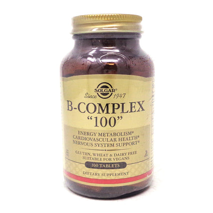 B-Complex 100 Tablets By Solgar - 100 Count