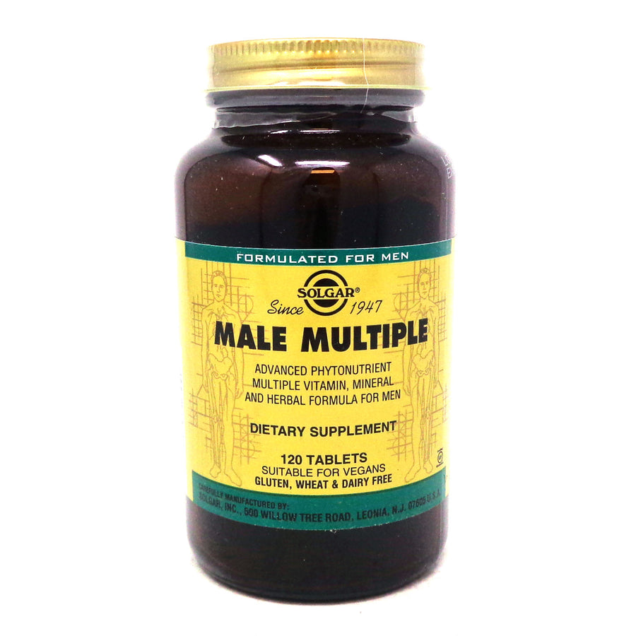 Male Multiple Tablets By Solgar - 120 Count
