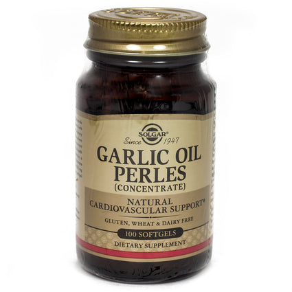 Solgar Garlic Oil Perles Softgels (Reduced Odor)  - 100 Count