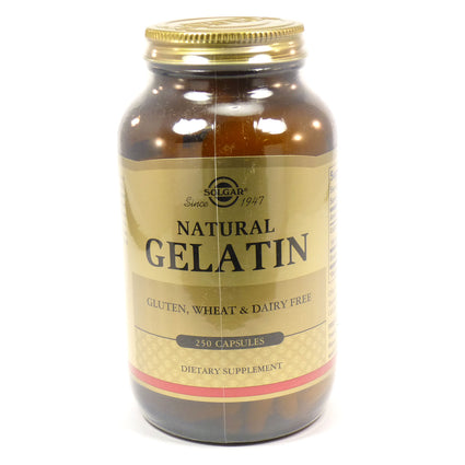 Solgar Gelatin Capsules (with Calcium)  - 250 Count