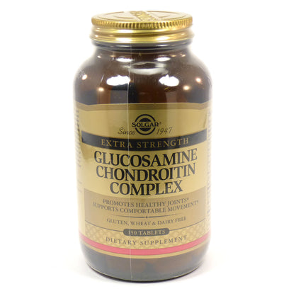 Solgar Extra Strength Glucosamine Chondroitin Complex Tablets  - 150 Count