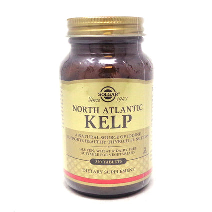 Kelp Tablets  By Solgar - 250 Count
