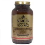 Solgar Niacin 500 mg Vegetable Capsules (Vitamin B3)   - 250 Count