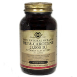 Solgar Oceanic Beta Carotene Softgels 25 000 IU  - 90 Count