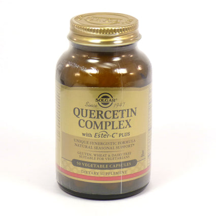 Solgar Quercetin Complex Vegetable Capsules   - 50 Count