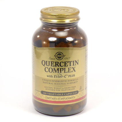 Solgar Quercetin Complex Vegetable Capsules   - 100 Count