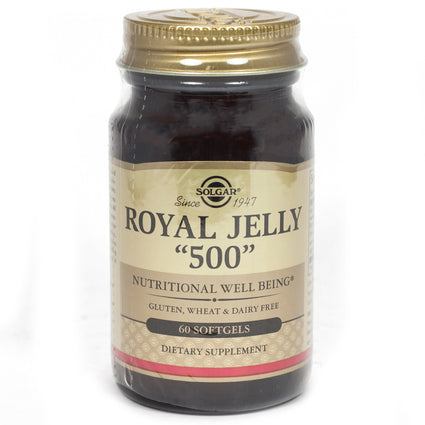 Solgar Royal Jelly '500' Softgels  - 60 Count