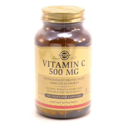 Solgar Vitamin C 500 mg Vegetable Capsules  - 100 Count