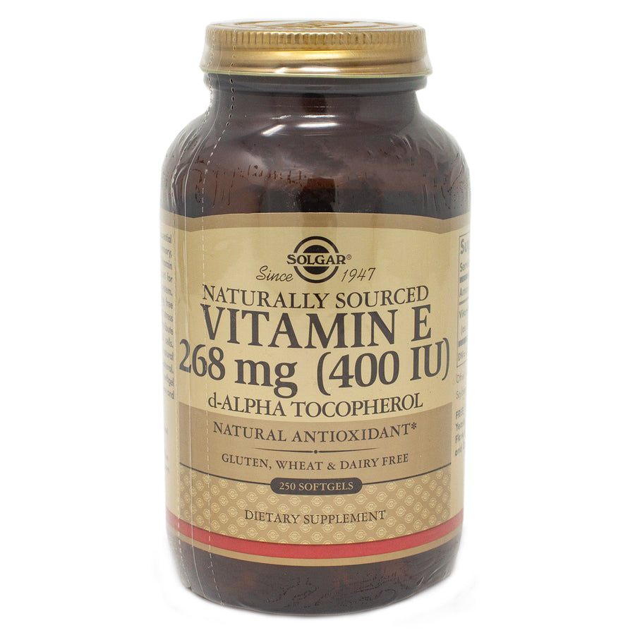Solgar Vitamin E 400 IU Alpha Softgels  - 250 Count