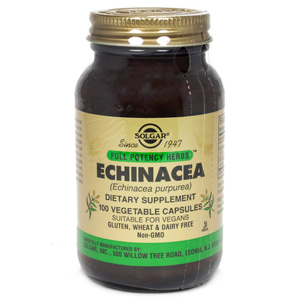 Solgar FP Echinacea Vegetable Capsules   - 100 Count
