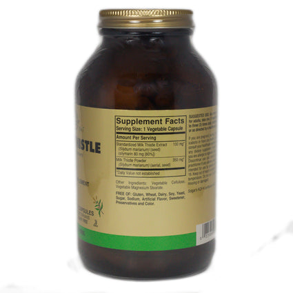 Solgar FP Milk Thistle Vegetable Capsules  - 250 Count