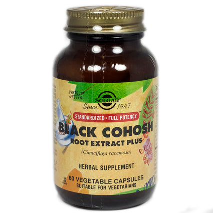 Solgar SFP Black Cohosh Root Extract Vegetable Capsules  - 60 Count