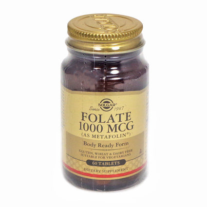 Solgar Folate 1000 MCG - 60 Tablets
