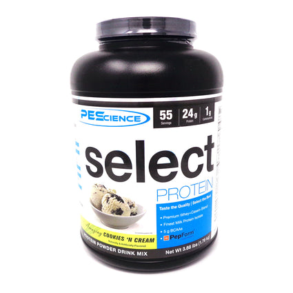 Select Protein Cookies-N-Cream  by PEScience - 3.88 Pounds