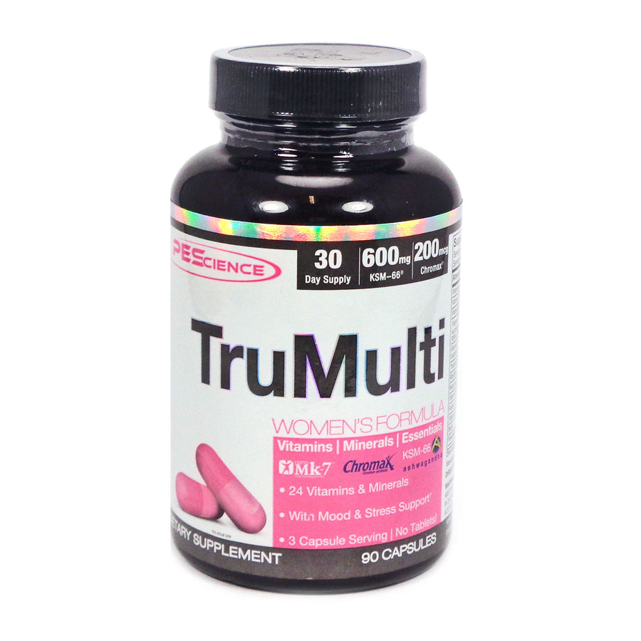TruMulti Womens Multivitamin By PEScience - 90 Capsules