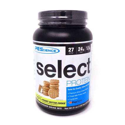 Select Protein Peanut Butter Cookie By PES - 27 Servings