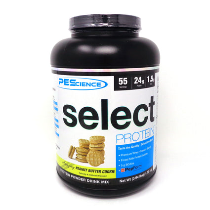 Select Protein Peanut Butter Cookie By PES - 55 Servings