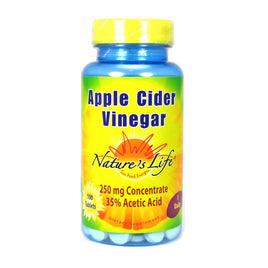 Apple Cider Vinegar By Nature's Life - 100 Tablets