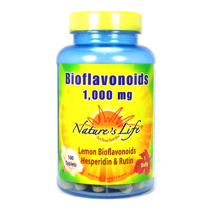 Lemon Bioflavonoid 1000 mg 1000 mg By Nature's Life - 100  Tablets