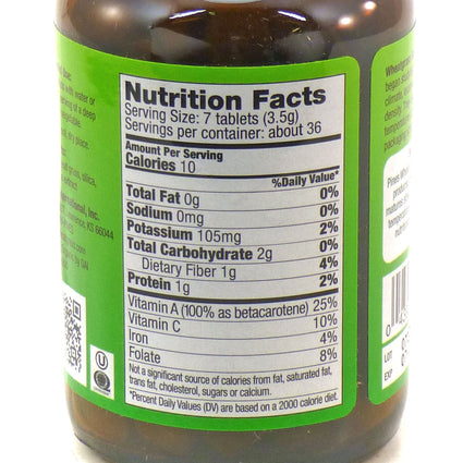 Pines Wheat Grass Gluten Free - 250 Tablets