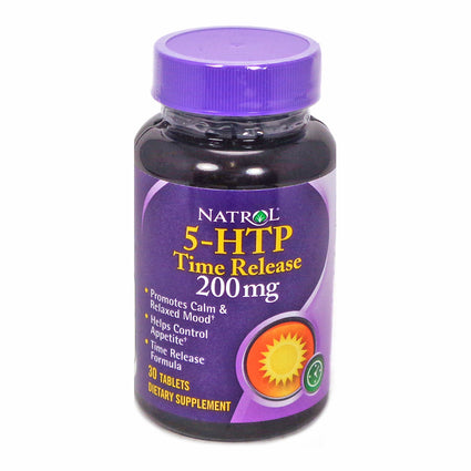 5-HTP 200 mg Time Release By Natrol - 30 Tablets