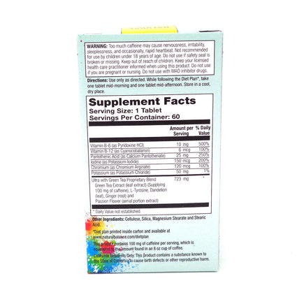 Ultra Diet Pep w/Green Tea Extract By Natural Balance - 60  Tablets