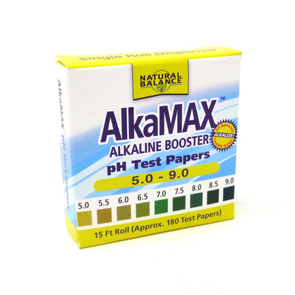 Natural Balance AlkaMax pH Test Paper 15ft