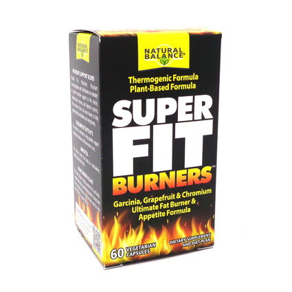 Natural Balance Super Fit Burners Veg Cap (Btl-Glass) 60ct