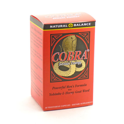 Cobra By Natural Balance - 60  Vegetable Caps