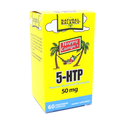 5-HTP By Natural Balance - 60  Capsules