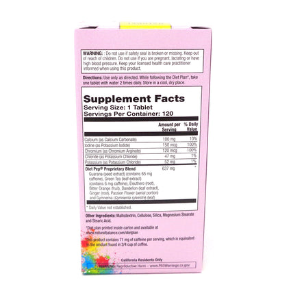 Diet Pep By Natural Balance - 120  Tablets