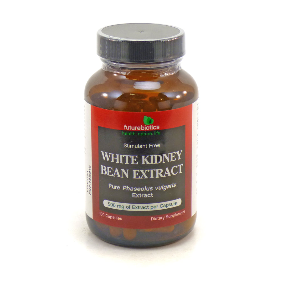 White Kidney Bean Extract By Futurebiotics - 100 Capsules