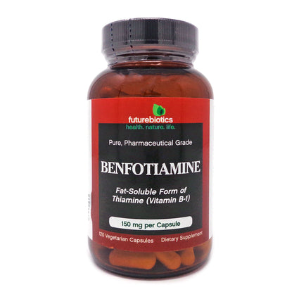 Futurebiotics Futurebiotics Benfotiamine 150mg - 120 Veg Capsules