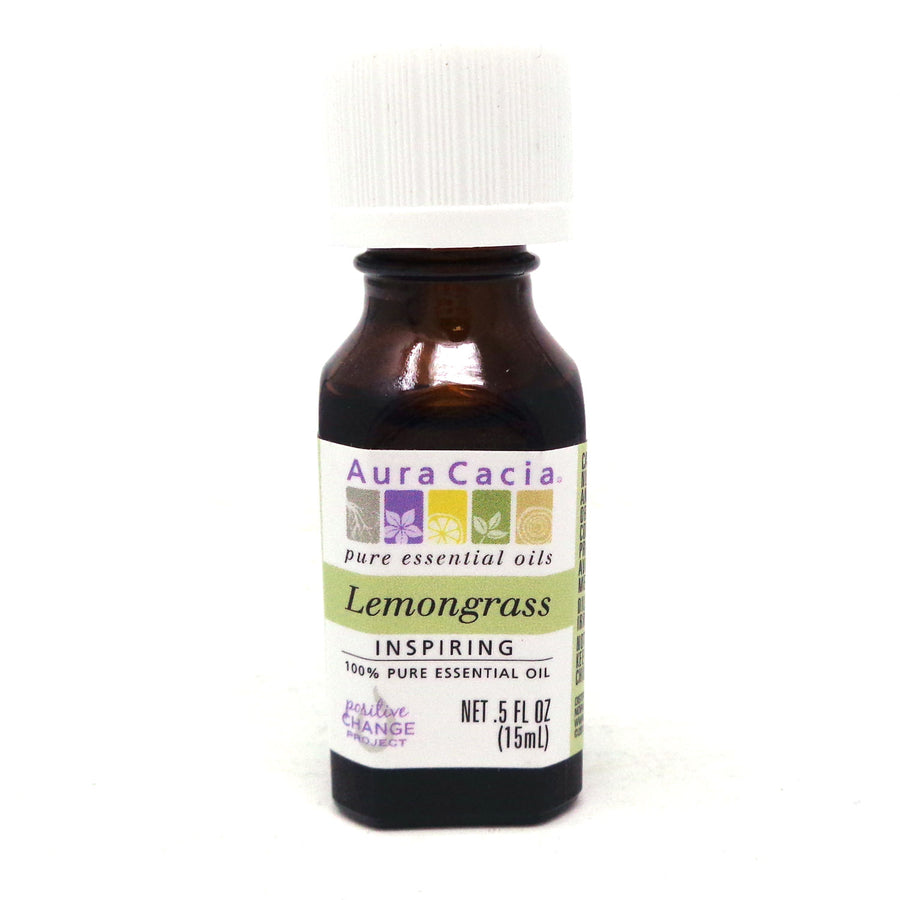 Essential Oil Lemongrass By Aura Cacia - .5 Ounces