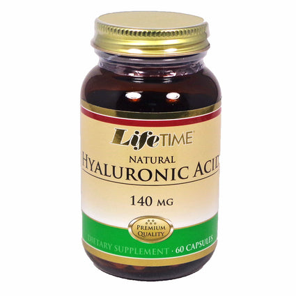 Hyaluronic Acid by Lifetime - 60 Capsules