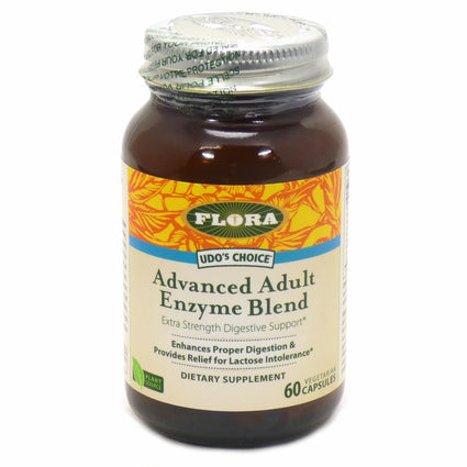 Flora Advanced Adult Enzyme   - 60 Capsules
