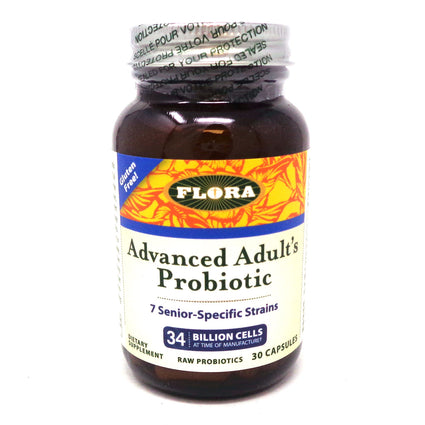 Flora Advanced Adults Probiotic - 30 Capsules