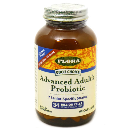 Flora Advanced Adults Probiotic   - 60 Capsules