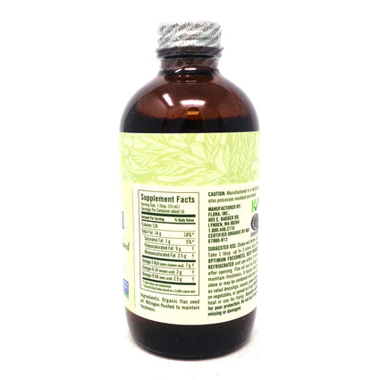 Flora Orgainc Flax Oil - 8.5 Ounces