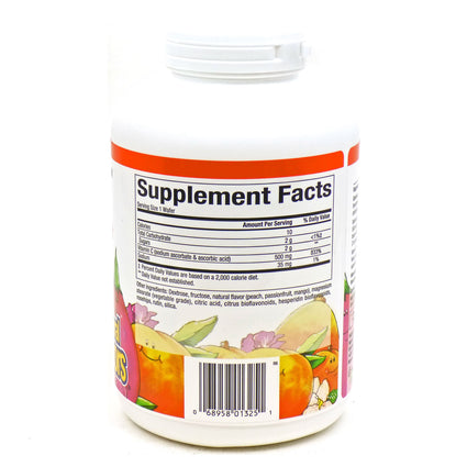 Vit.C 500mg Peach Chw By Natural Factors - 180 Tablets