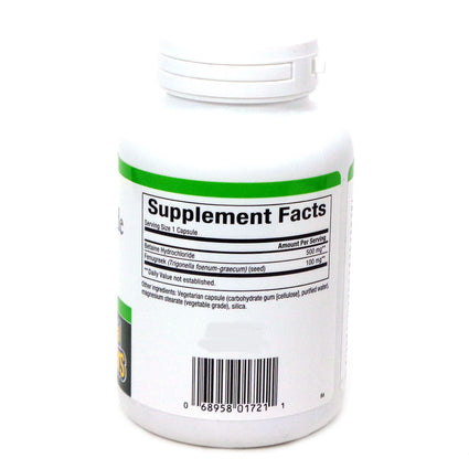 Betaine HCL 500mg By Natural Factors - 180 Capsules
