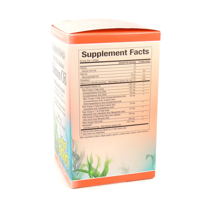Salmon Oil Complete Omega By Natural Factores - 180 Softgels