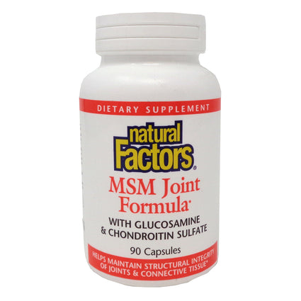 MSM Joint Formula By Natural Factors - 90 Capsules